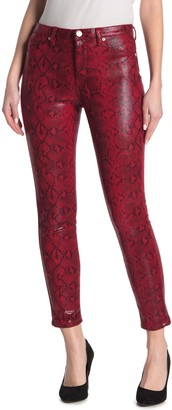 Blank NYC The Bond Faux Leather Snakeskin Pants