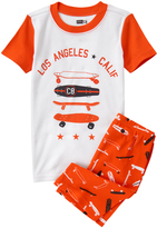 Crazy 8 Carrot Skateboard Tight-Fit Pajama Set - Infant Toddler & Boys