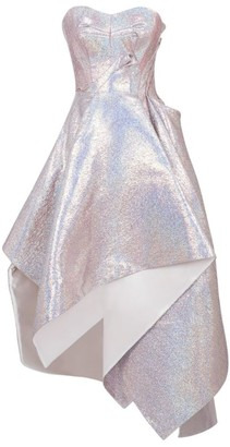 Maticevski Happiness Holographic Gown