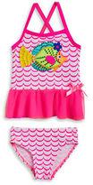Flapdoodles Girls 2-6x Fish Tankini Swimsuit Set