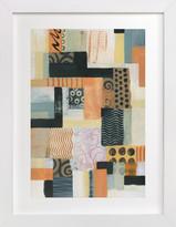 Minted Urban Quilt II Art Print