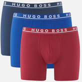 HUGO BOSS Men's 3 Pack Boxer Briefs Multi