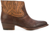 Buttero fitted cowboy boots