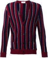 Saint Laurent striped cardigan