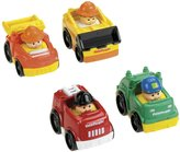 Fisher-Price Little People Wheelies Cars 4-Pk Working