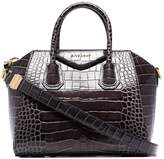 Givenchy Antigona crocodile-effect tote