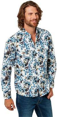 Joe Browns Fabulous Floral Shirt - White