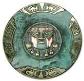 Novica Lambayeque Copper Decorative Plate