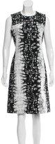 Reed Krakoff Printed Knee-Length Dress