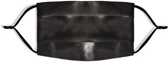 Slip Silk Face Covering - Black