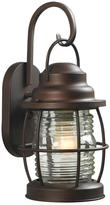 Home Decorators Collection Harbor 1-Light Copper Outdoor Small Wall Lantern