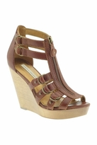 Twelfth St. By Cynthia Vincent by Cynthia Vincent Jagger Wedge Sandals in Brandy