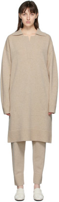 Joseph Beige OSize Polo Dress