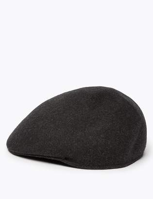 Marks and Spencer Pure Wool Flat Cap