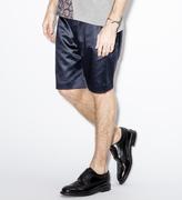 Paul Smith Black Cotton-Blend Satin Shorts