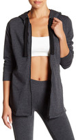 Andrew Marc Mesh Detail Activewear Hooded Jacket