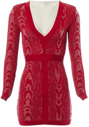 Balmain Red Dress for Women