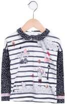 Catimini Girls' Long Sleeve Printed Top