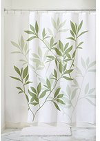 "InterDesign Leaves Fabric Shower Curtain - Stall, 54"" x 78"", Green"