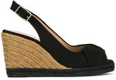 Castaner Brianda wedge espadrillas - women - Raffia/Leather/Canvas/rubber - 38