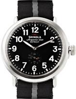 Shinola The Runwell 47mm Stainless Steel and Nylon Watch