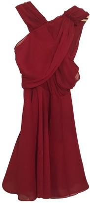 The Kooples Red Silk Dresses