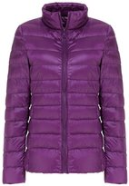 Mochoose Women's Winter Down Puffer Jacket Coat Packable Ultra Light Weight