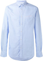 Officine Generale plain shirt - men - Cotton - S
