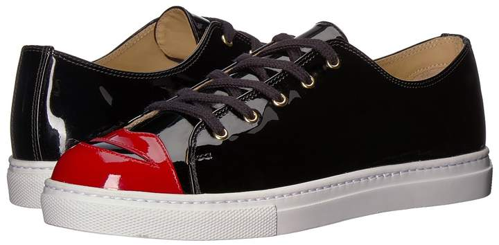 Charlotte Olympia Kiss Me Sneakers Women's Lace up casual Shoes