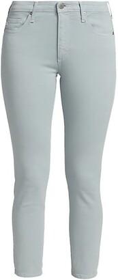 Prima Crop Cigarette-Leg Jeans