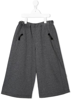 Familiar Wide-Leg Trousers