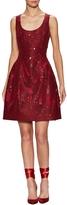 Prabal Gurung Women's Silk Sequin Flared Dress