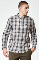 RVCA Lament Plaid Long Sleeve Button Up Shirt