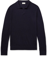Club Monaco Johnny Merino Wool, Silk and Cashmere-Blend Sweater