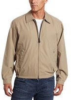 London Fog Men's Big Auburn Zip Front Light Mesh Lined Golf Jacket