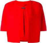Max Mara cropped blazer - women - Linen/Flax/Viscose - 38