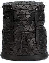 Bao Bao Issey Miyake 'Matte Drum' backpack - unisex - Calf Leather/Nylon/Polyester/PVC - One Size