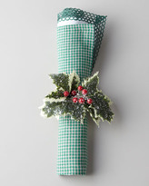 Deborah Rhodes Classic Holiday Placemats & Napkins