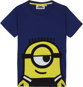 Fabric flavours Minions appliqué cotton T-shirt 3-8 years