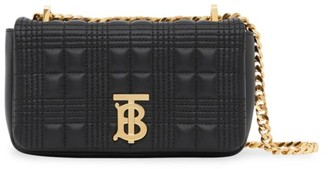 Burberry Mini Lola TB Quilted Leather Shoulder Bag