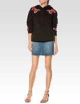 Paige Darren Sweatshirt - Black Floral Patch