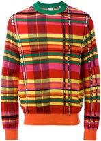 Paul Smith checked jumper - men - Cotton/Viscose - L