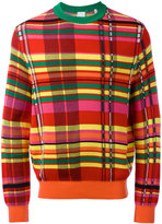 Paul Smith checked jumper - men - Cotton/Viscose - M