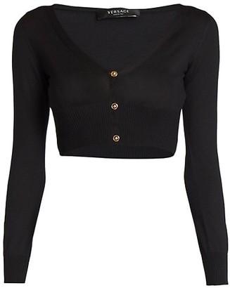 Versace Silk Cardigan