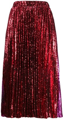 Philosophy di Lorenzo Serafini Sequin Skirt