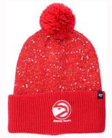 '47 Women's Atlanta Hawks Hardwood Classics Glint Knit Hat