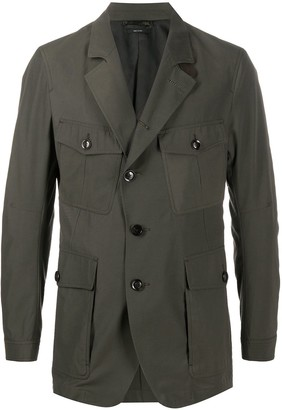 Tom Ford Military Single Breasted Blazer