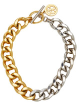 Thumbnail for your product : Ben-Amun Women's Two-Tone Gold-Plate Metal Chain Necklace - Gold - Moda Operandi