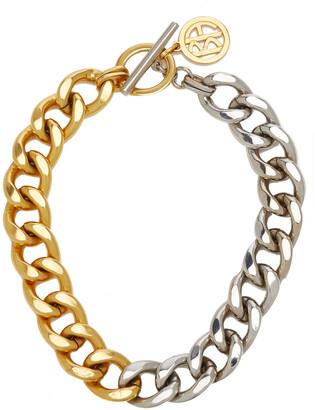Ben-Amun Women's Two-Tone Gold-Plate Metal Chain Necklace - Gold - Moda Operandi