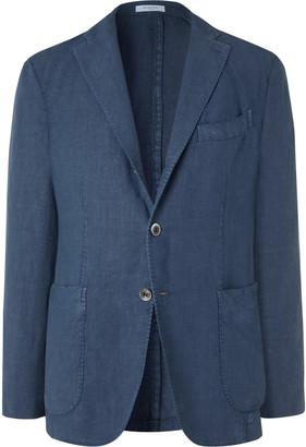Boglioli Slim-Fit Unstructured Linen Suit Jacket